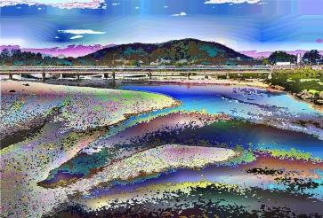 river-mountain