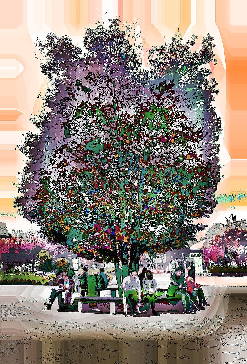 talk-under tree