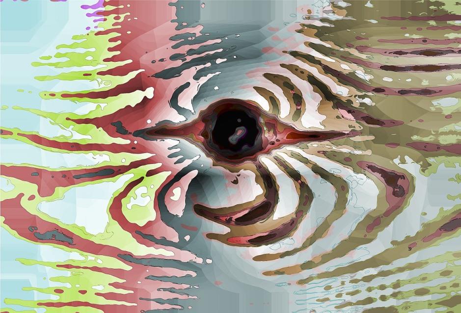 wooden ripples